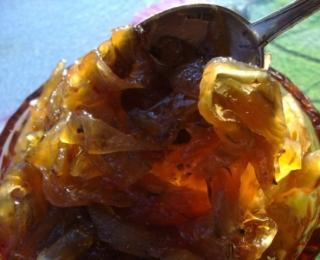 onion jelly with plums
