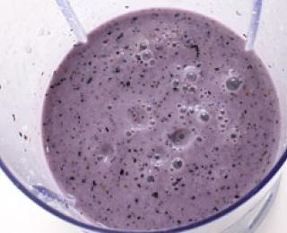 Step 5 - Blueberry Milkshake Recipe