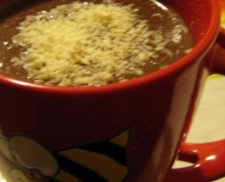 Hot Chocolate with Vanilla Sugar
