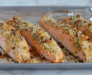 Step 6 - Baked Salmon with Honey Mustard