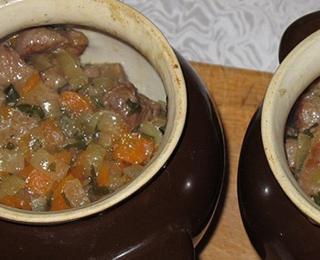 beef stew with quince