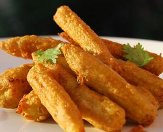 baby corn golden fry