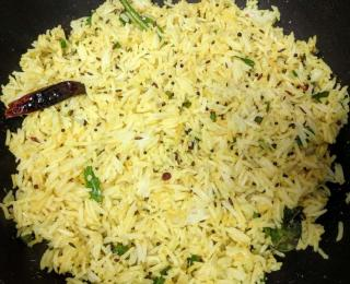 Step 11 - Lemon Rice Recipe
