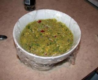 carne asada with guacamole