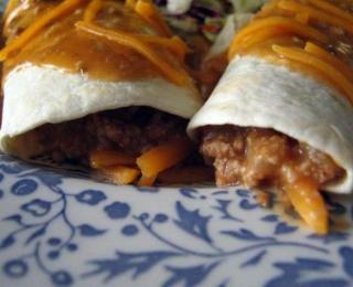 easy turkey burritos
