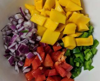 Step 1 - Mango Salsa Recipe
