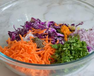 Step 2 - Sweet & Spicy Citrus Slaw