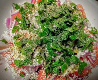 Step 5 - Watermelon Feta Salad Recipe
