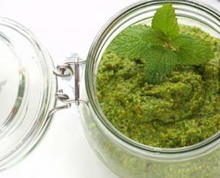 step 6 Best Pasta Sauce Recipe - Pesto with Pistachios