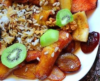 Vegan Fruit Pilaff