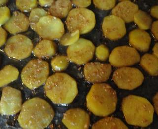 potatoes with soy sauce