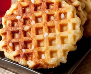 Waffles with Pumpkin