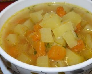 Potato Soup with Pumpkin and Ginger