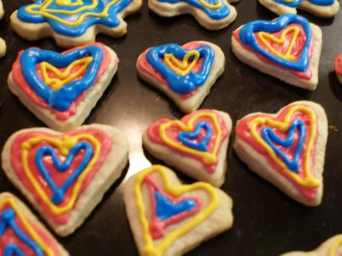 Shortbread Cookies with Royal Icing