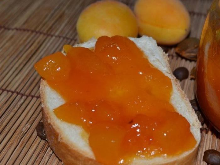 apricot and coffee jam