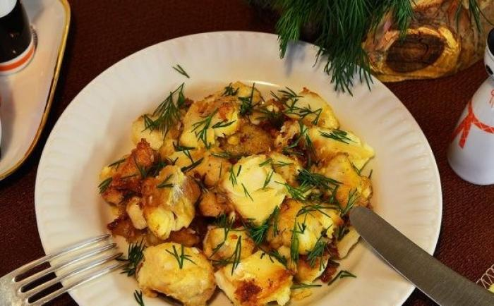 Cod in Soy Sauce Healthy Recipe