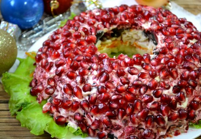 Pomegranate Bangle-Like Salad