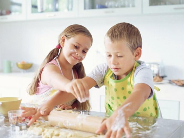 what skills can kids acquire through cooking