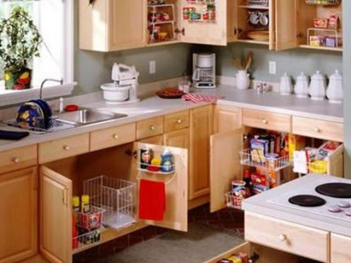 best places for food storage in a kitchen