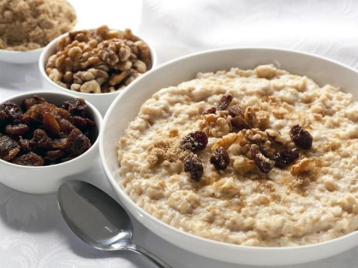 porridge for good mood and strong body