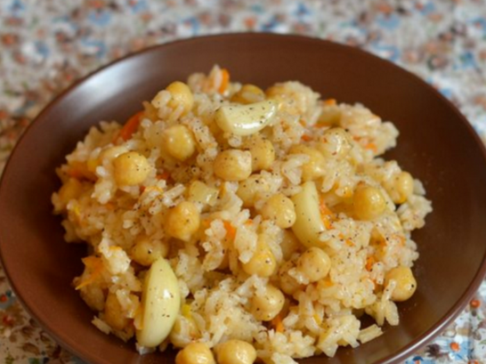 Vegetarian Pilaff with Chick Pea