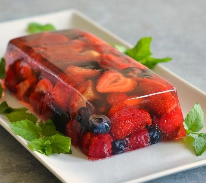 Fresh Berry Terrine